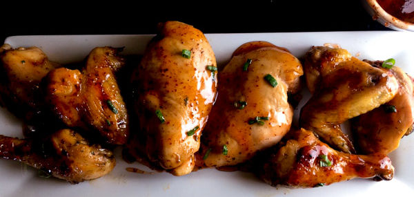 Creole Honey Mustard Glazed Chicken
